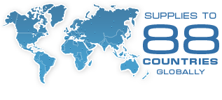 Supplies to 86 countries globally